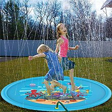 Lurowo Splash Pad,170cm Sprinkler Play