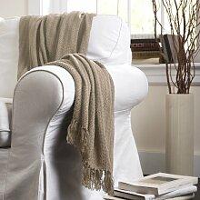Lush Decor Pamela dekorativer Überwurf-Decke,