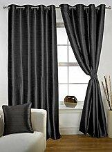 lushomes Polyester Öse dekorative Tür Vorhänge feste Wohnzimmer drapers - Grösse wählen