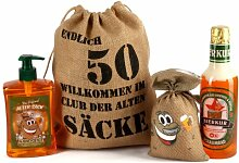 Lustapotheke® Geburtstagsgeschenk Set Bier Spa