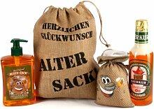 Lustapotheke® Geburtstagsgeschenk Set Bier Spa zum Geburtstag (4-teilig)
