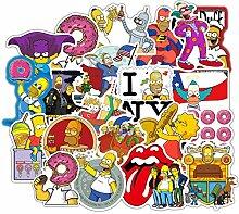 Lustige Anime-Cartoon-Simpsons-Graffiti-Aufkleber