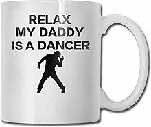 Lustige Entspannung Mein Vater ist eine Tänzerin