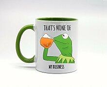 Lustige Geschenkidee für Kaffeetasse oder
