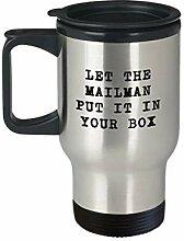 Lustige Geschenkidee für Postarbeiter