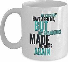Lustige Großeltern Kaffeetasse Oma oder Opa