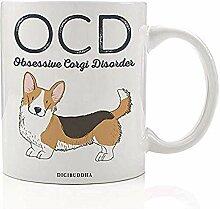 Lustige Hundeliebhaber Kaffeetasse Geschenkidee