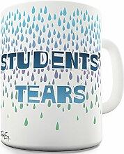 Lustige Kaffee Tasse Becher Student Tears Keramiktasse