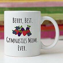 Lustige Kaffeetasse, 325 ml, Gymnastik, Mutter,