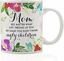 Lustige Kaffeetasse Geschenkidee für Mama Mutter