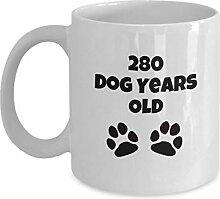 Lustige Kaffeetasse zum 40. Geburtstag,
