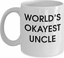 Lustige Kaffeetassen, der okayeste Onkel der Welt