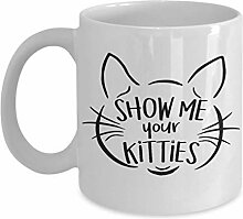 Lustige Katzen-Tasse – einzigartige Geschenkidee