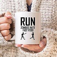 Lustige Läufer-Tasse, Geschenk für Frauen,