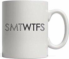 Lustige SMTWTFS WTF Tage der Woche Tasse-lustige