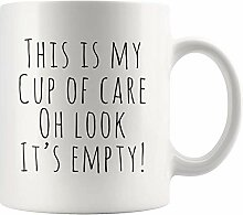 Lustige Tasse Dies ist meine Tasse Pflege Oh