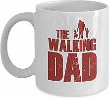 Lustige TV-Show-Tasse - The Walking Dad Coffee &