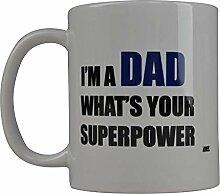 Lustige Vati-Vater-Kaffeetasse Was Ihre