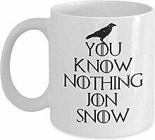 Lustige Ygritte Tasse - Sie wissen nichts Jon Snow