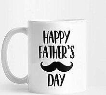 Lustiger Becher für Vater - glücklicher