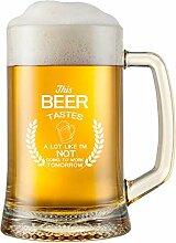 """Lustiger Bierbecher mit Aufschrift """"This Beer"""