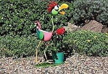 Lustiger Blumentopf Halter Vogel, Bunte