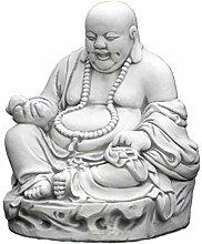 Lustiger Stein Buddha Mönch Gartendeko aus