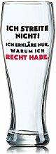 Lustiges Bierglas Weizenbierglas Bayern 0,5L -