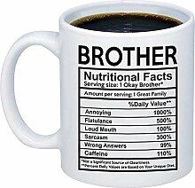 Lustiges Geschenk für Bruder - Bruder Nutritional