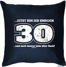Lustiges Kissen als Geschenkidee zum 30.