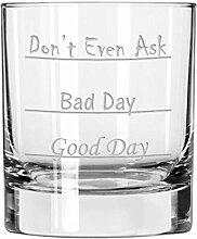 Lustiges Scotch Whiskey Glas, einzigartiges