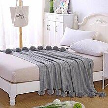 lutanky Super Soft dekorativer Überwurf-Decke
