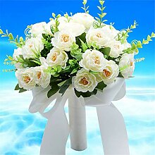 Luuruu Brautstrauß Romantische Hochzeitsstrauß