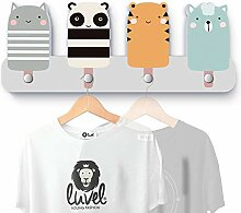 luvel YOUNG FASHION Bunte Kindergarderobe mit 4
