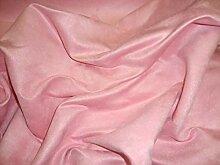 LuvFabrics Polyester-Mikro-Wildleder, massives