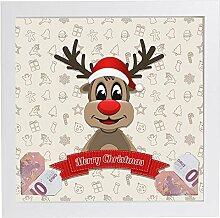 luvthings Weihnachten - Geldgeschenk Bilderrahmen