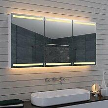 Lux-aqua Alu Badezimmer Spiegelschrank Badschrank