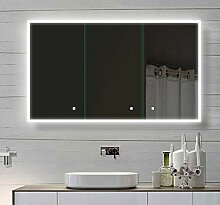 Lux-aqua Alu Badschrank Badezimmer spiegelschrank