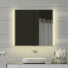 Lux-aqua Alu LED Beleuchtung Badezimmerschrank