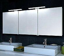 Lux-aqua Aluminium LED Beleuchtung Spiegelschrank