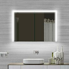 Lux-aqua Aluminium LED Kalt-/ Warmlicht Badezimmer