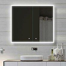Lux-aqua Bad Alu LED Beleuchtung Badschrank
