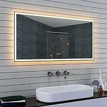Lux-aqua Badspiegel LED Beleuchtung kalt- und
