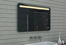 Lux-aqua Design Badezimmerspiegel mit Dimmer, Warm