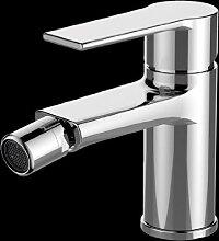 Lux-aqua Design Bidetarmatur Wasserhahn mit (NEOPERL Perlator) PS46376C