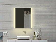 Lux-aqua Design LED Spiegelschrank mit Alu-Rahmen