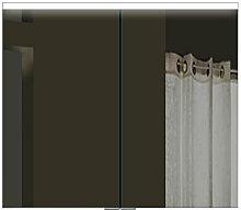 Lux-aqua Design Spiegelschrank mit Alu-Rahmen
