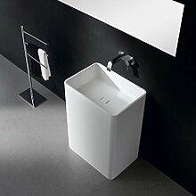 Lux-aqua Freistehendes Waschbecken