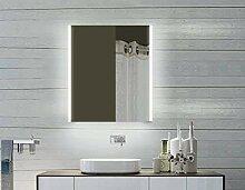 Lux-aqua LED Aluminium Badezimmerspiegelschrank