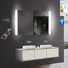 Lux-aqua LED Beleuchtung Badezimmerspiegel